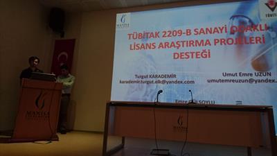TÜBİTAK 2209-B Lisans Proje Desteği Semineri - 3739